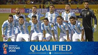 Photo de l'équipe Argentine