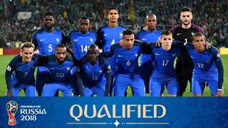 Photo de l'équipe France