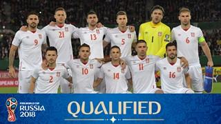 Photo de l'équipe Serbie