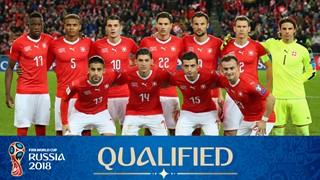 Photo de l'équipe Suisse